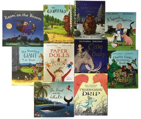 Julia Donaldson 10 Books Set K1087
