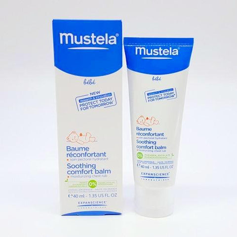 Mustela Soothing Comfort Balm 40ml K1117  ** April 2018
