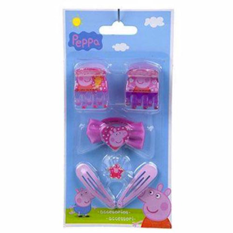 Peppa Pig 6pc Hair Accessory Pack K1152