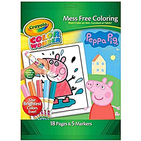 Crayola Colour Wonder - Peppa Pig K1227