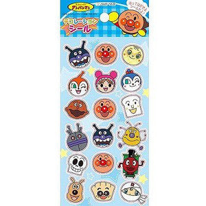 Anpanman Sticker Blue (made in Japan) J50398