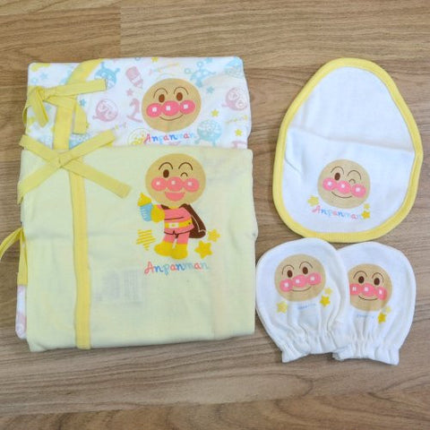 Anpanman New Born GiftSet 4pcs, TA6986 J51022