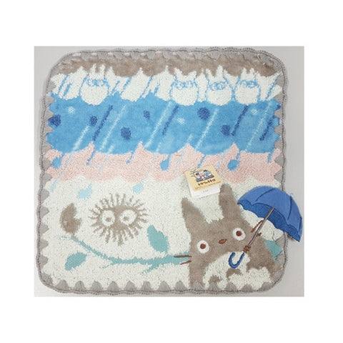 Totoro Rainy Day Towel (Blue Umbrella) J51070