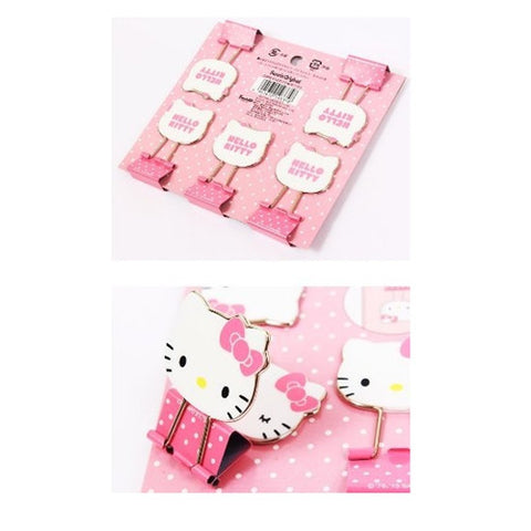Hello Kitty Clips 5pcs J51145