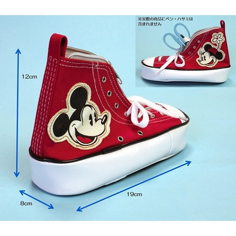 Mickey & Minnie Sneakers Pen Case J51555
