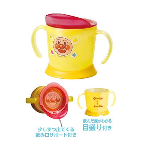 Anpanman Learning Cup with Lid  KK-209 J51662