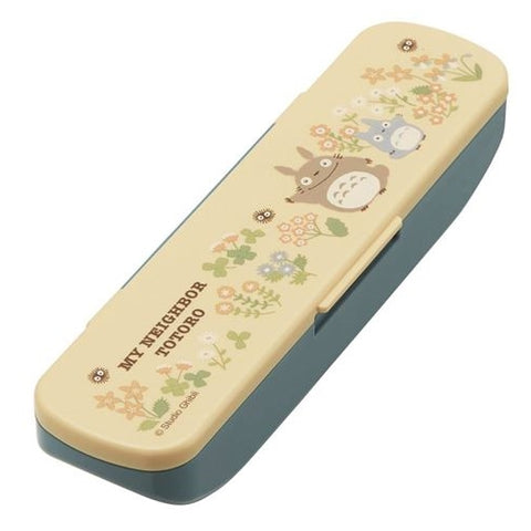 Totoro Spoon with case (Yellow), Made in Japan J51695