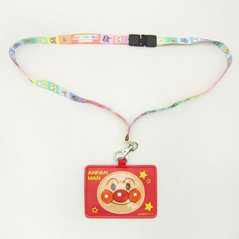 Anpanman Octopus Card Holder with Belt (Made in Japan) J51781