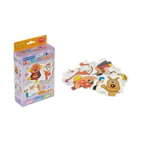 Anpanman Die-cut Puzzle (6 + 8pcs) Purple J51782