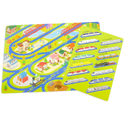 Train Scene Magnet Set J51910