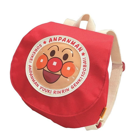 Anpanman Backpack Red ANS-2700, Made in Japan J51947