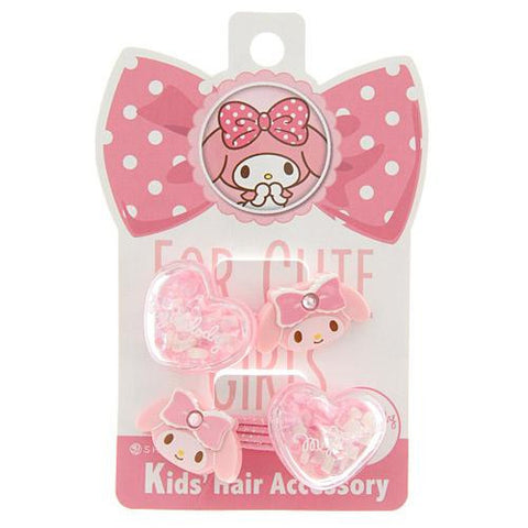 My Melody Heart Hair Tie 2pcs, Made in Japan J52101