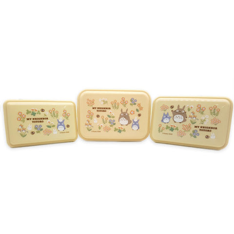 Totoro Meal Box 3P (S,M,L), Made in Japan J52103