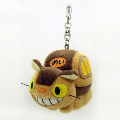 Totoro Neko Bus Plush Key Chain J52148