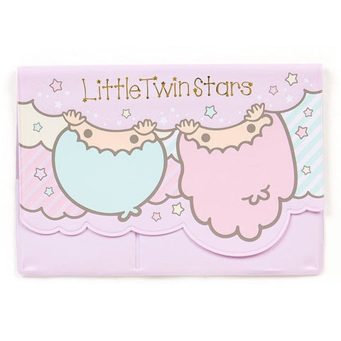 Little Twin Stars Passbook and Card Case J52354