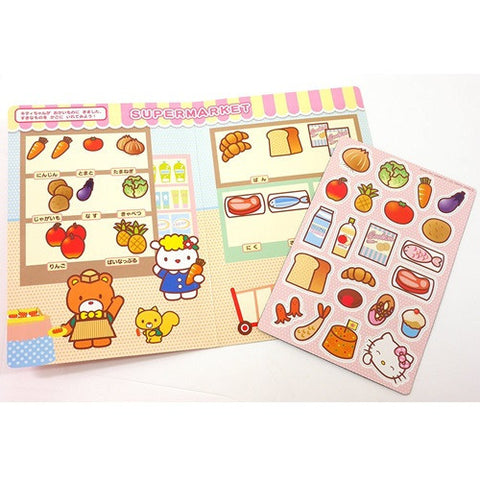 Hello Kitty Supermarket Scene Magnet Set J52474