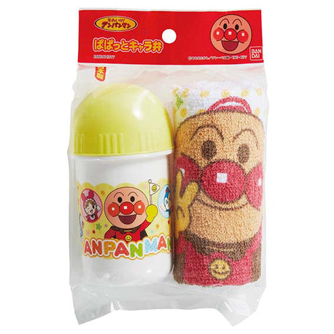 Anpanman Towel with Case, Made in Japan J52477