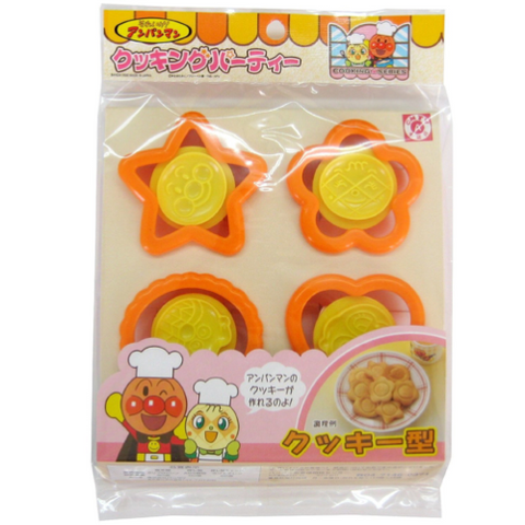 Anpanman Cookies Mode 4P, Made in Japan J52621