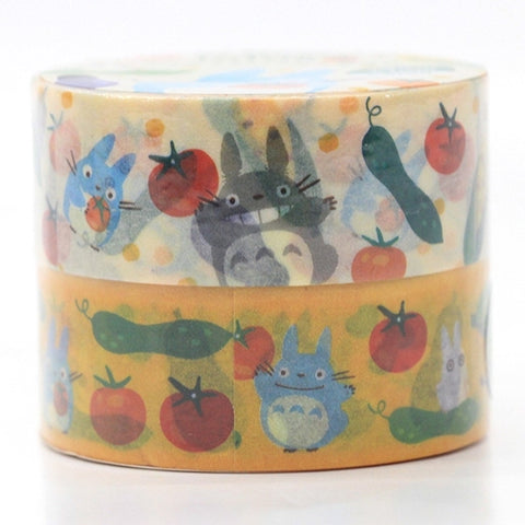 Totoro Masking Tape (2-roll) Vegetable J52692