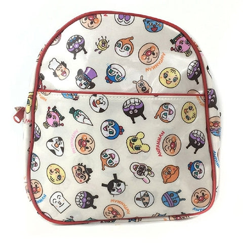 Anpanman Small Head Pattern Backpack (Red), Made in Japan J52720