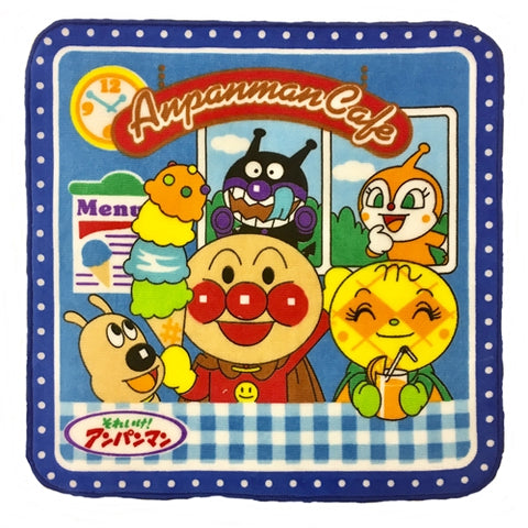 Anpanman Towel Blue Ice-cream Caf? J52722