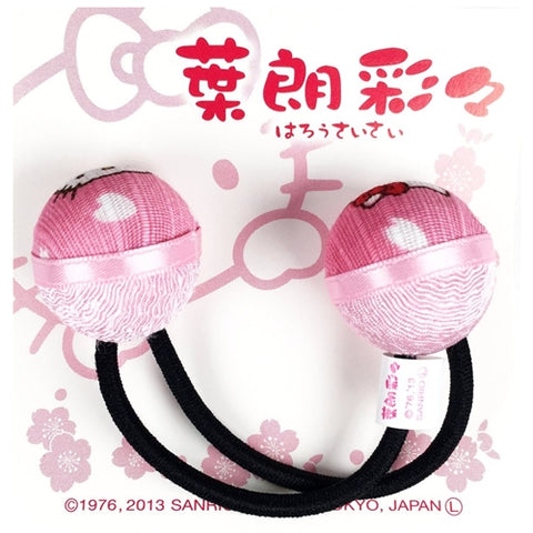 Hello Kitty Hair Tie Ball, Made in Japan J52756