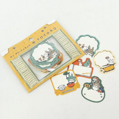 Totoro Message Stickers 50pcs, Made in Japan J52909