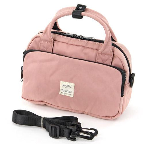 (Pre-order) anello 2way Shoulder Bag - Pink J53117