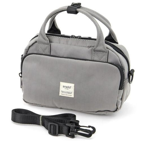 (Pre-order) anello 2way Shoulder Bag - Grey J53118