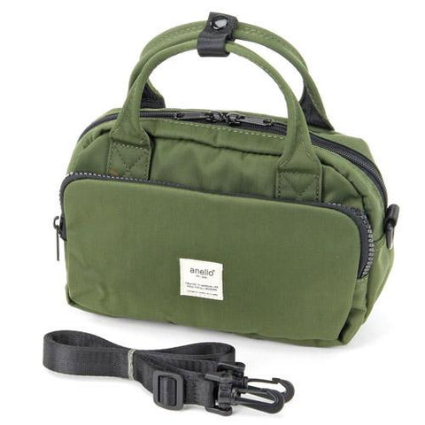 (Pre-order) anello 2way Shoulder Bag - Green J53120