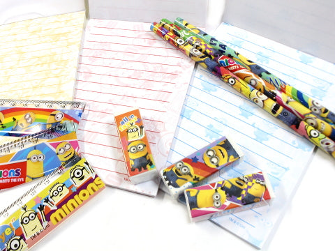 Japan Minion Stationery 4pcs Set J53158