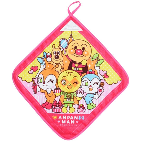 Anpanman Hand Towel - Pink, Beauty J53167