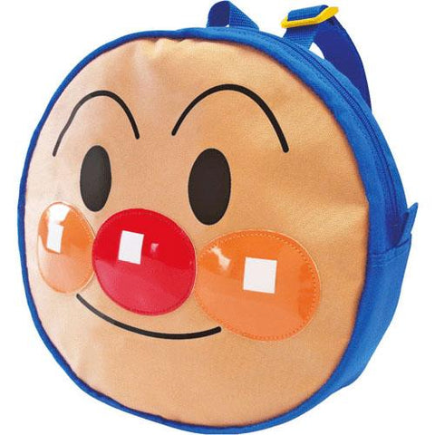 Anpanman Big Head Backpack - Blue, Made in Japan J53352