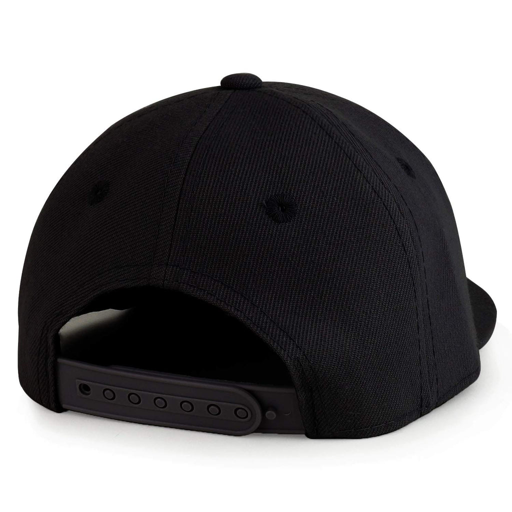 Trendy Apparel Shop Infant to Toddler Kids Plain Structured Flatbill Snapback Cap