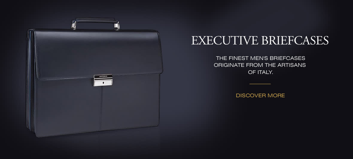 Executive Briefcases - Luxury Leather Goods