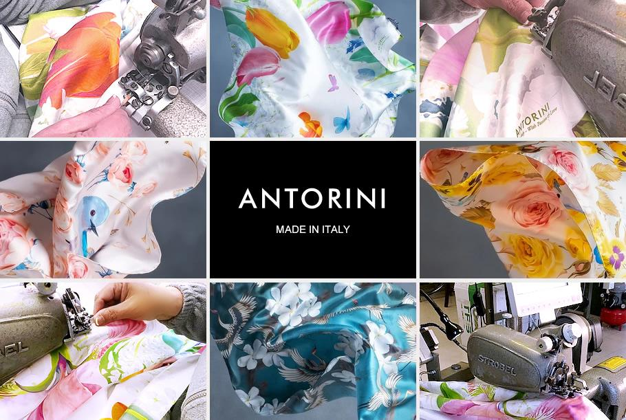 Manufacturer of Silk Scarves Italy