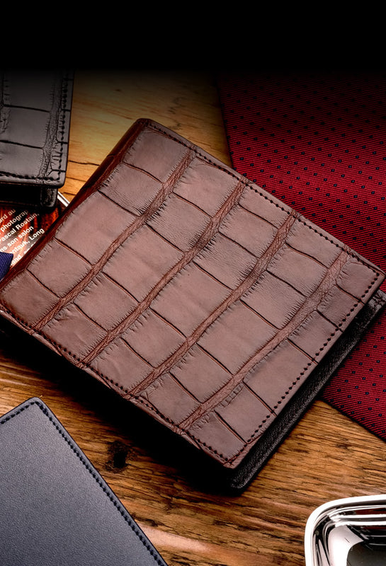 Men/'s GENUINE Leather Wallet Card Holder Male Fashion Purse For Christmas Gifts