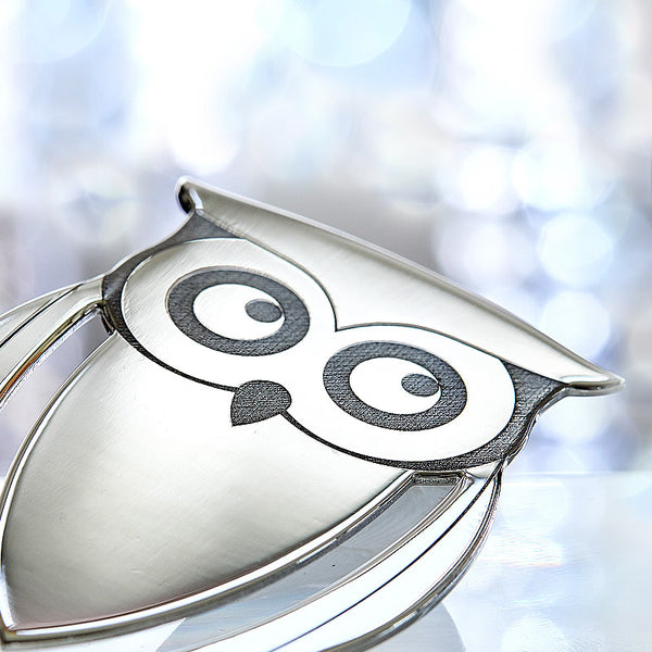 Silver Owl Bookmark-ANTORINI®