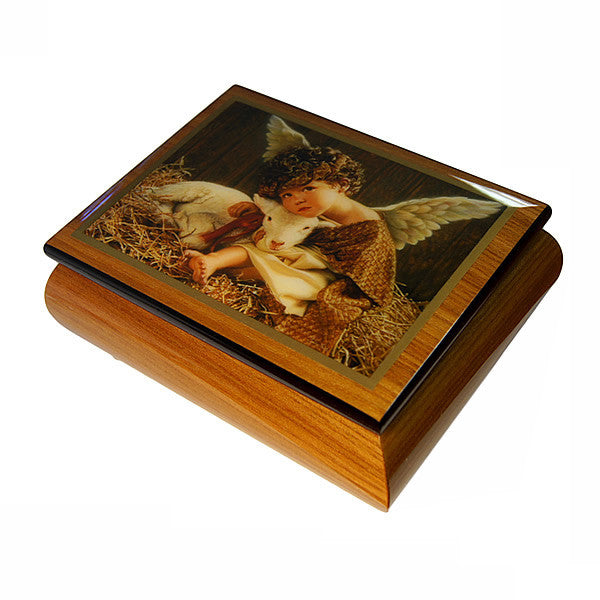 "Jewellery Box with Melody playing "" Magic flute """