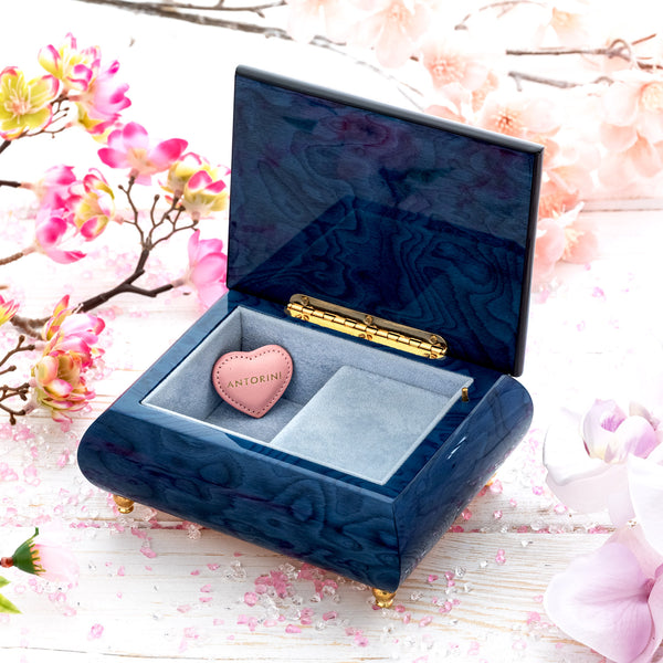"Music Jewellery Box with Motive of ""The Starry Night""-ANTORINI®"