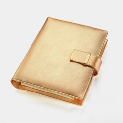 Gold Leather Manager A5 Agenda-ANTORINI®