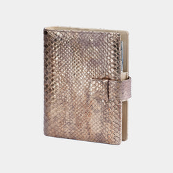 Leather Manager A6 Agenda in Metallic Bronze-ANTORINI®