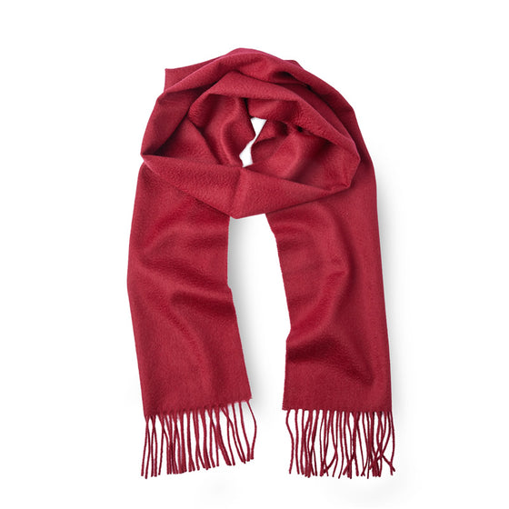 Men's Cashmere Scarf ANTORINI in Merlot