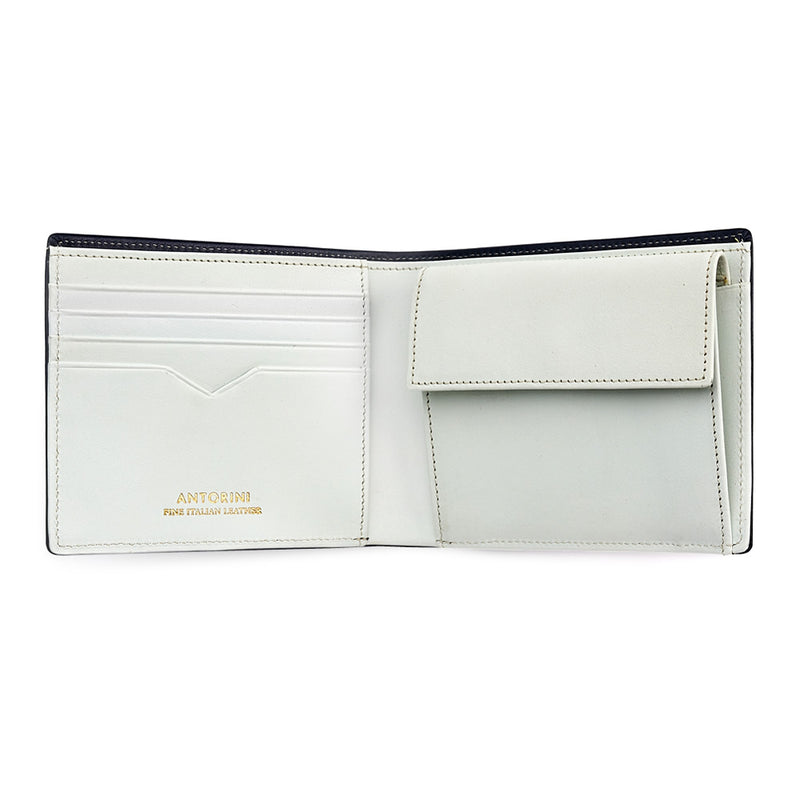Men's Wallet ANTORINI in Black and White-ANTORINI®