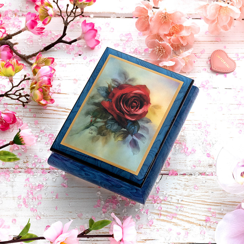 "Music Jewellery Box with Motive of ""The True Love""-ANTORINI®"