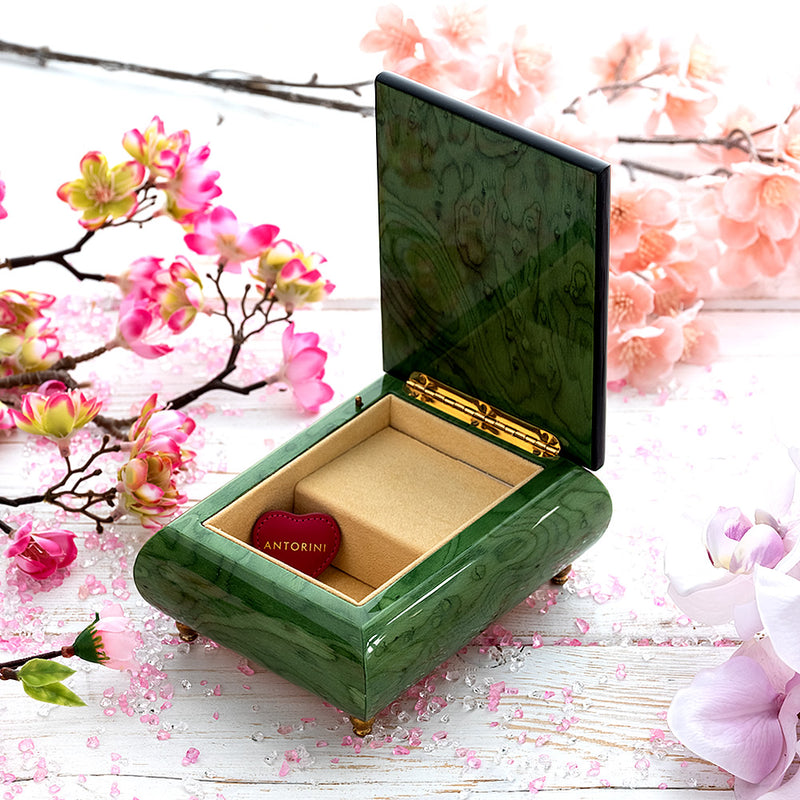 "Music Jewellery Box with Motive of ""The Little Dragon Vase""-ANTORINI®"