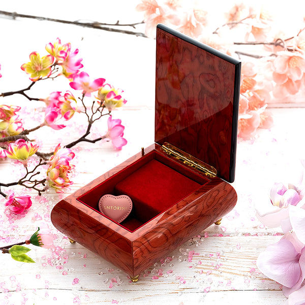 "Music Jewellery Box with Motive of ""Bless The Day"""