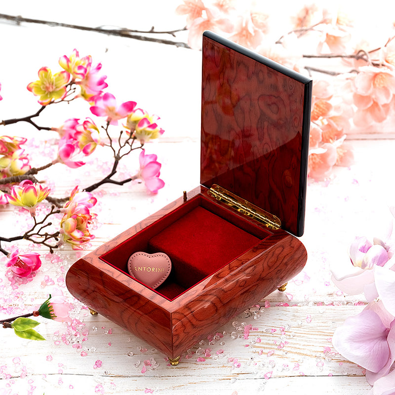 "Music Jewellery Box with Motive of ""Bless The Day""-ANTORINI®"