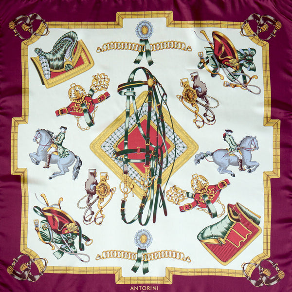 Royal Riding School Silk Scarf-ANTORINI®