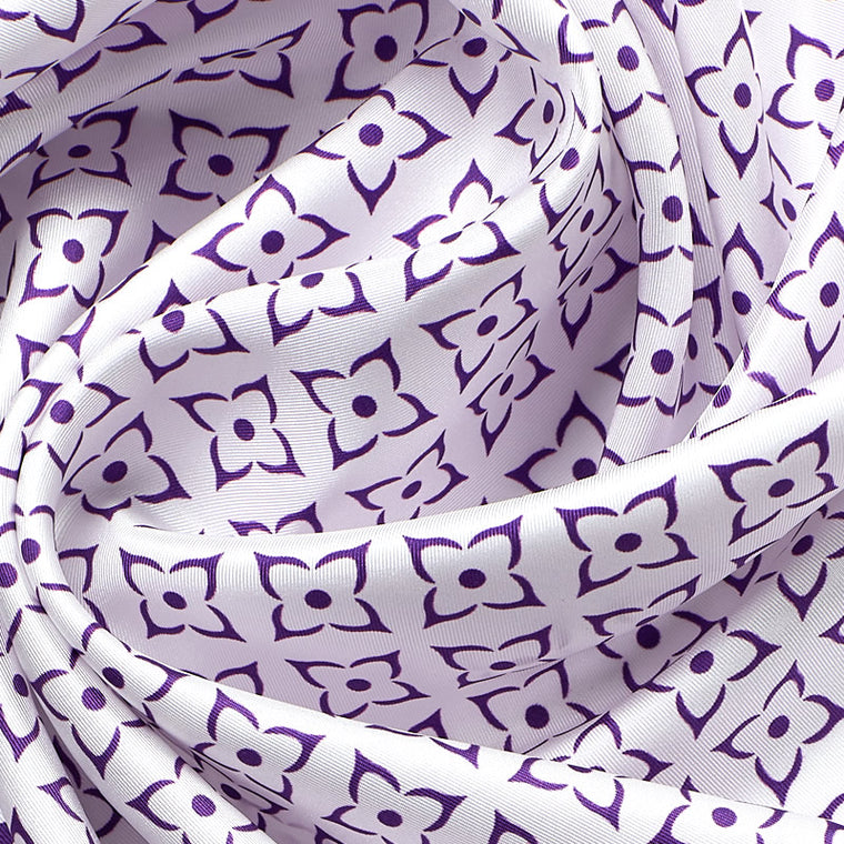 ANTORINI Geometric Luxury Silk Scarf III